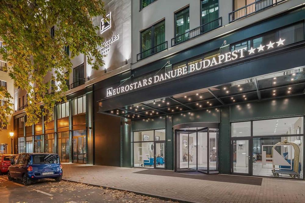 מלון 4 כוכבים -  Eurostars Danube Budapest