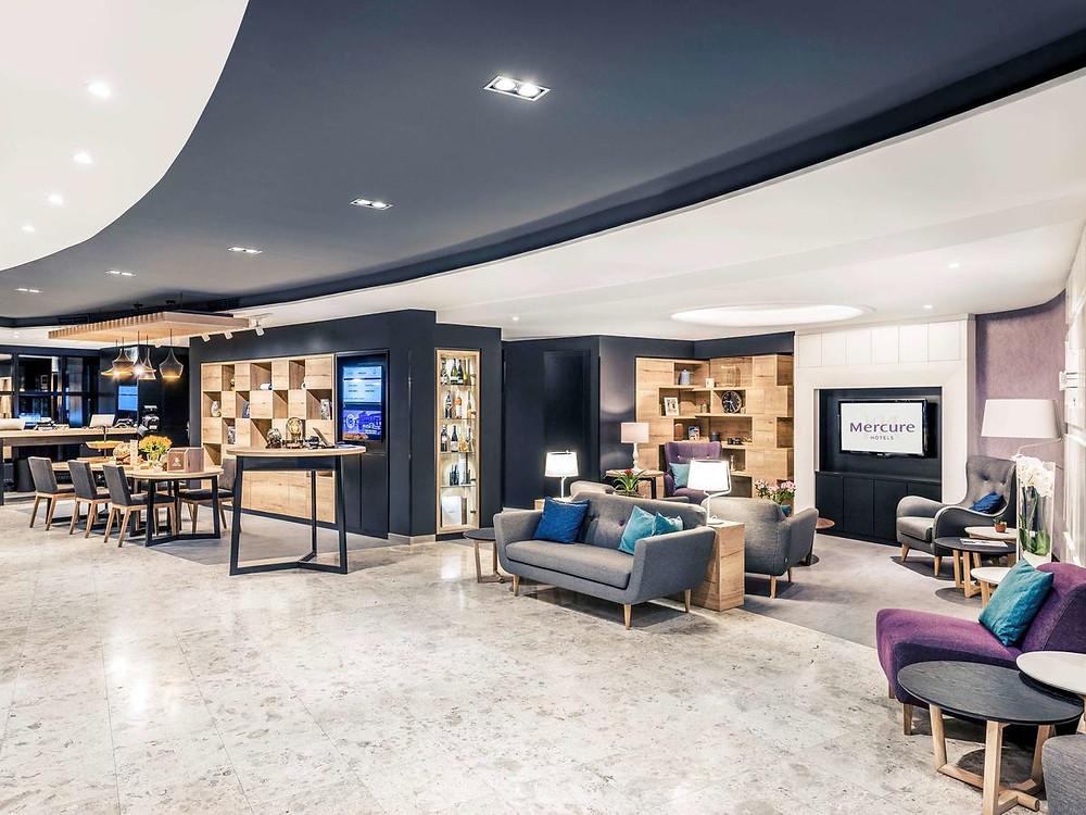 מלון 4 כוכבים - Mercure Budapest City Center