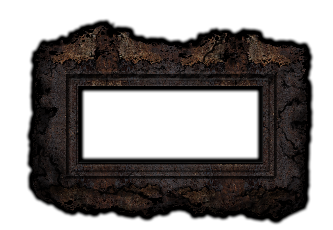 All about the rusted crow gallery frame.