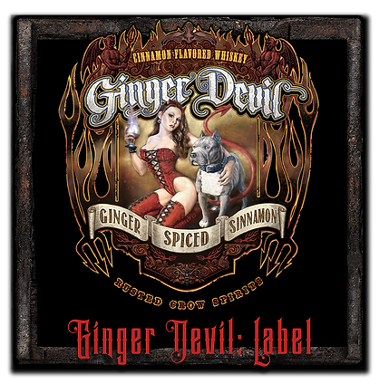 Ginger Devil Whiskey Label.png