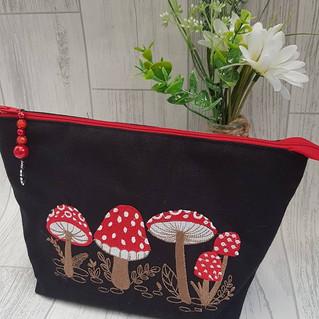 Toadstool Design Cosmetic Bag.jpg