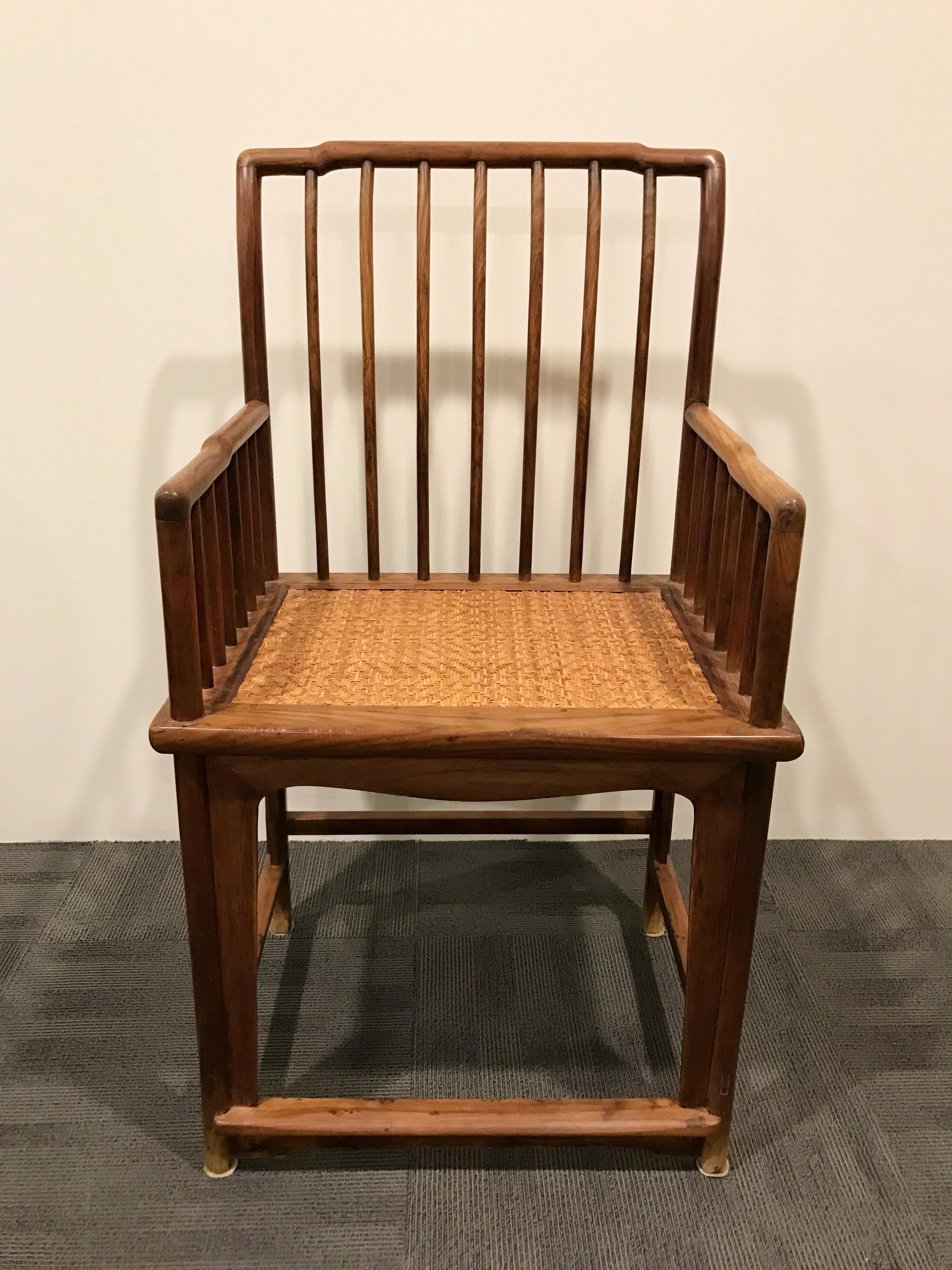 明代玫瑰椅(梳子椅)