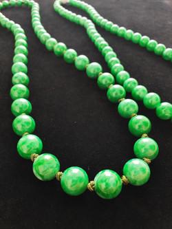 Round beads Natural Jadeite (Type A)
