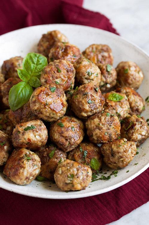 Homemade Meatballs (contains 10)