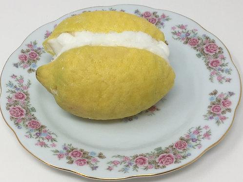 Sorbet Stuffed Lemon