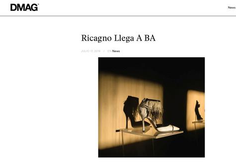 DMAG: Ricagno Llega A BA