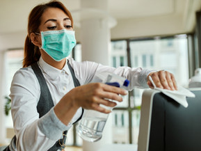 COVID-19 Risks to Cleaning Crew
