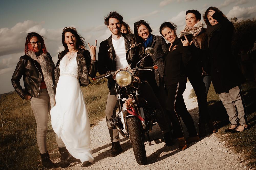 équipe éditoriale de la séance photo rock'n'roll, La Rochelle