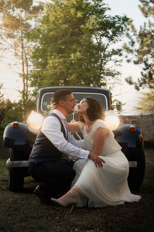 mariage vintage au chai pelletant, archiac