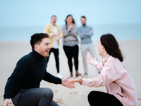 La demande de témoin de mariage la plus originale !