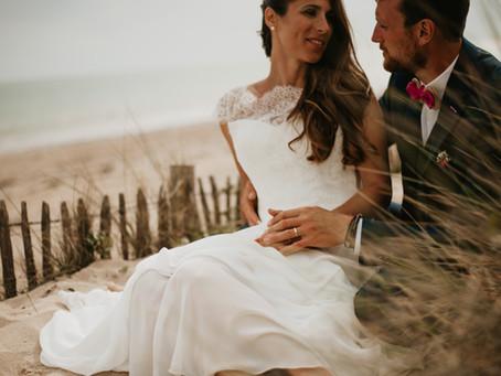 L'histoire d'amour de Alexandra & Geoffrey   Photographe de mariage sur l'Île de Ré
