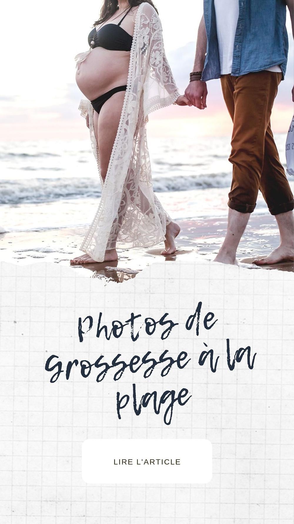 couple sur la plage, photographe grossesse à la plage, ile de ré
