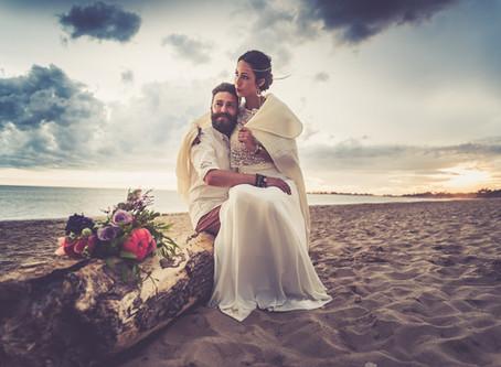 Un mariage intimiste en petit comité à La Rochelle