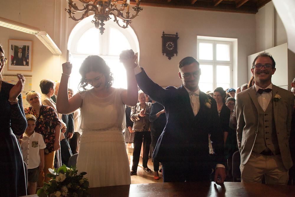 photo de mariage mairie cognac