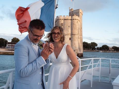 Un mariage familial et festif sur la mer { La Rochelle }