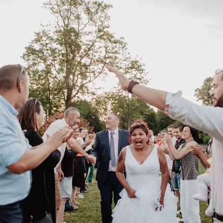 Un mariage entre amis au Domaine de la Gravette - Niort (79)