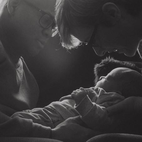 Photo de naissance, Elison, dans la douceur de la maison