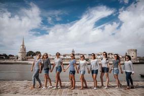 Shooting photo EVJF Plage-La Rochelle-SandraPhotographiste