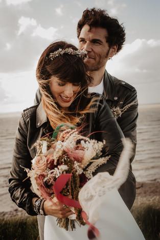 Votre photographe mariage rock à la rochelle