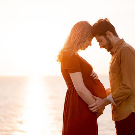 Des souvenirs de grossesse en couple {La Rochelle}