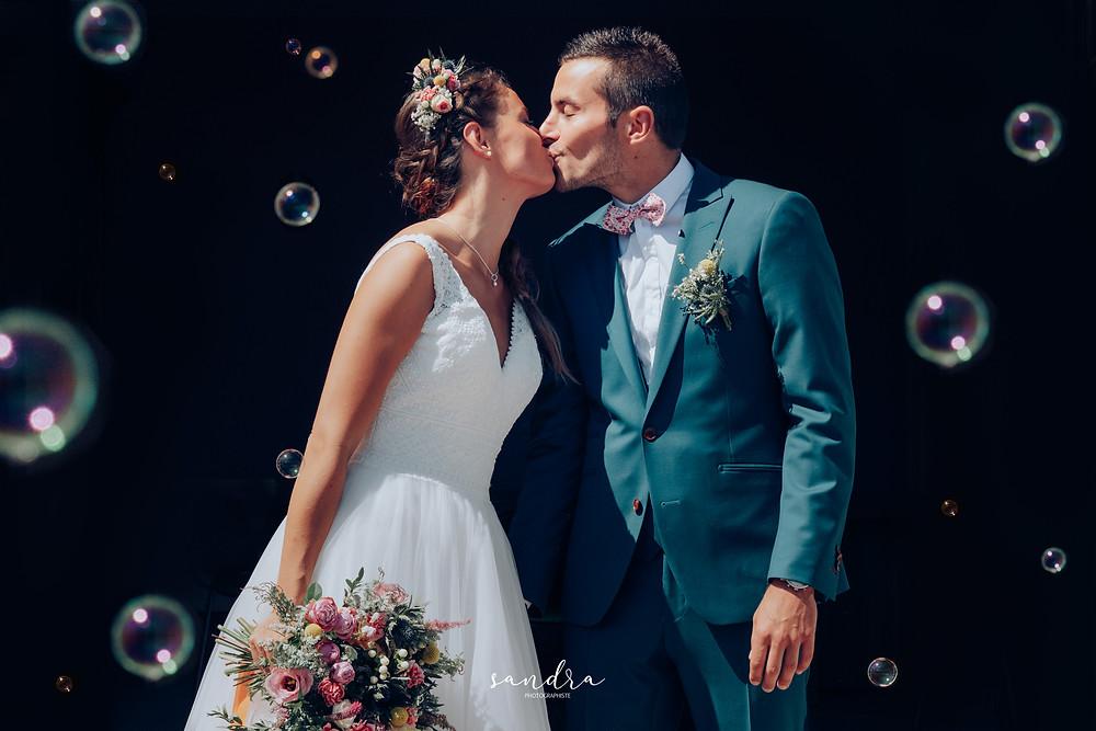 mariés bulles mairie