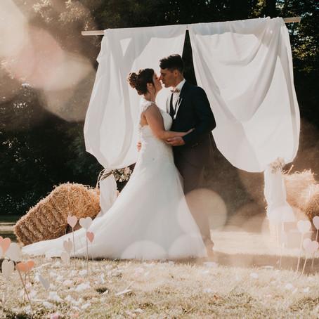 Marion & Sylvain, leur mariage Vendéen { Les Herbiers }
