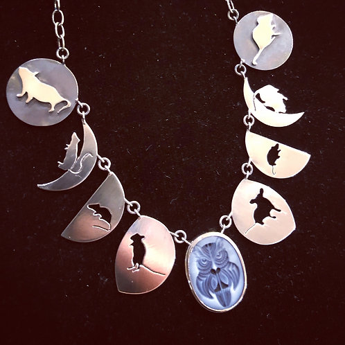 Of Mice and Moons Necklace