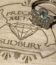 Lab Grown Diamond engagement ring boston