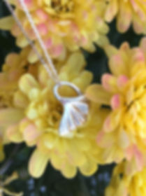 Gold Ginkgo Necklace