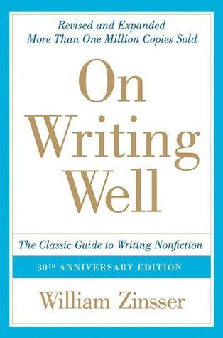 the cover of On Writing Well book by William Zinsser