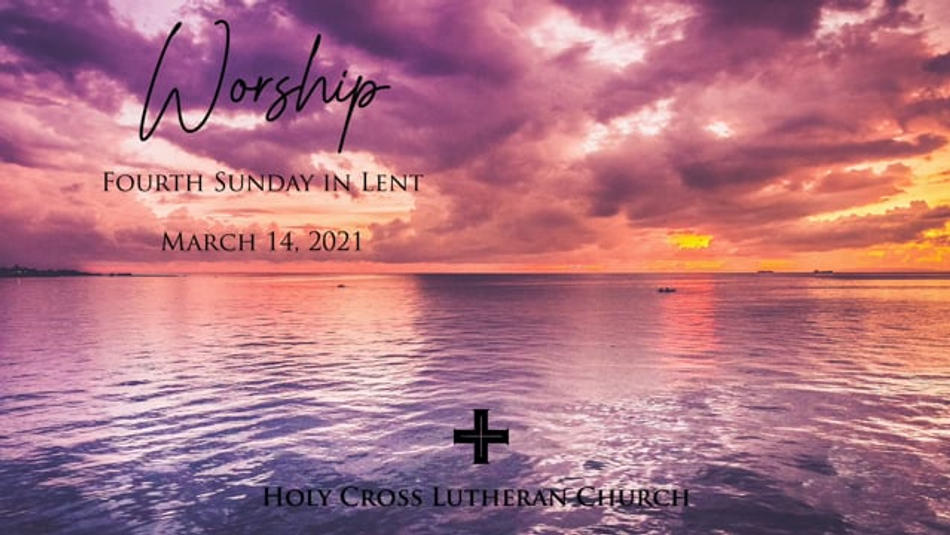 Sunday, March 14, 2021