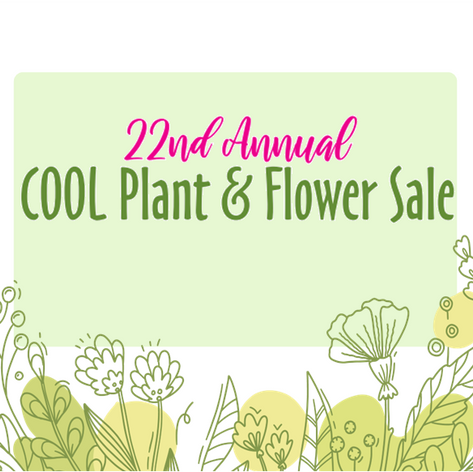COOL Plant & Flower Sale