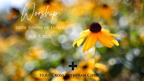 Sunday, May 9, 2021