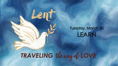 Lent Theme: LEARN Passcode: r=g?hn^0
