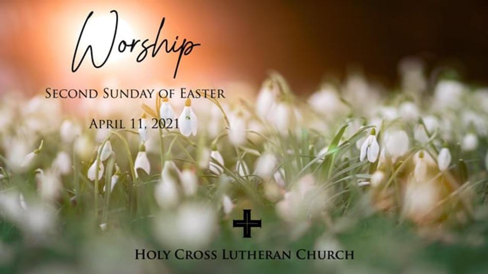 Sunday, April 11, 2021