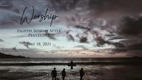 Sunday, July 18, 2021