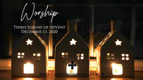 Sunday, December 13, 2020