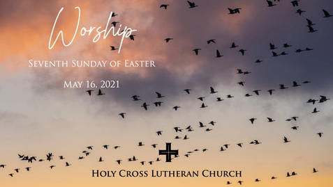 Sunday, May 16, 2021