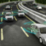 Conncted and autonomous vehicles on highway