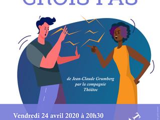 """Théâtoc joue """"Moi je crois pas !""""              de Jean-Claude Grumberg"""