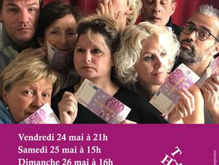 """Théâtoc joue """"Mon Fric"""" de David Lescot le 24 mai 2019 au Théâtre du Gouvernail"""