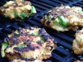 Chipotle Chicken Burger Patties