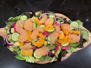 Grapefruit Scallop Salad