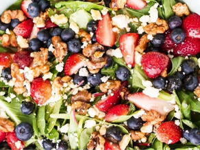 Red, White, & Blue Salad