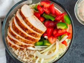 Southwest Chicken Meal Prep Bowls