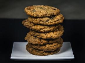 Banana Oat Chocolate Chip Cookies