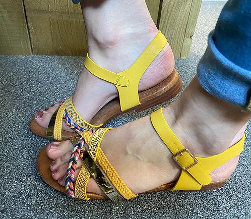 Lunar Louise Sandal - yellow