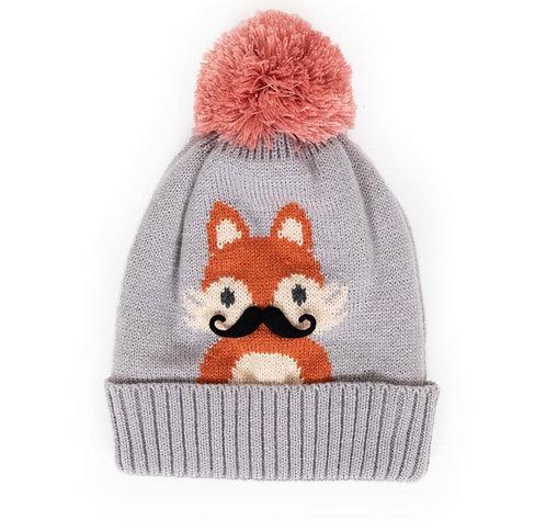 Kids Powder Fox Hat