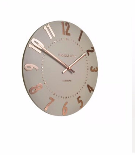 "12"" Wall Clock - Rose Gold"