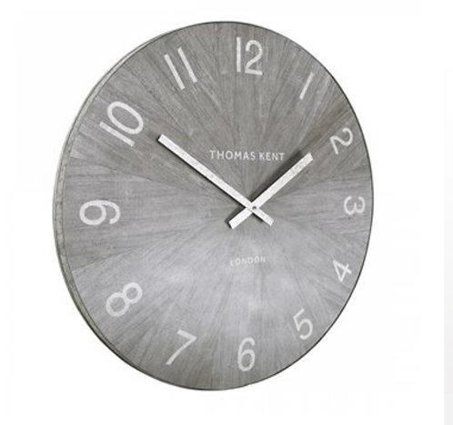 "45"" Wharf wall limestone clock"